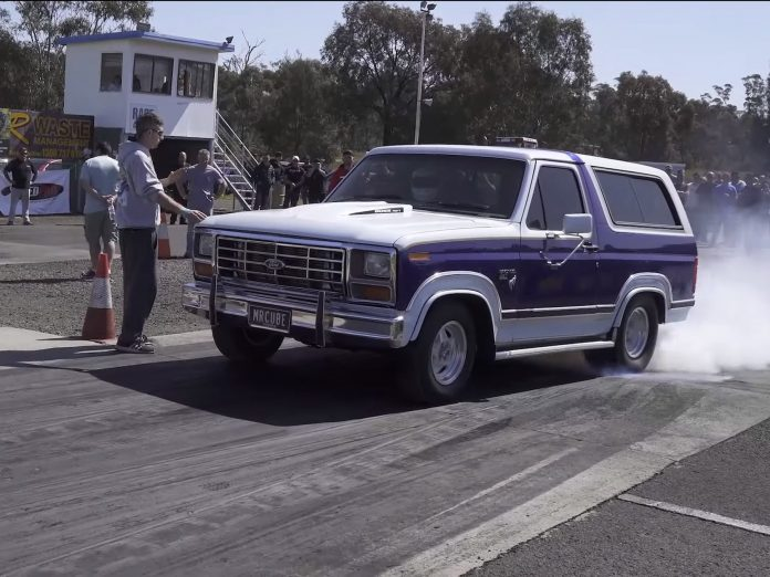 Robert Adamo's Nine Second Boosted Ford Bronco