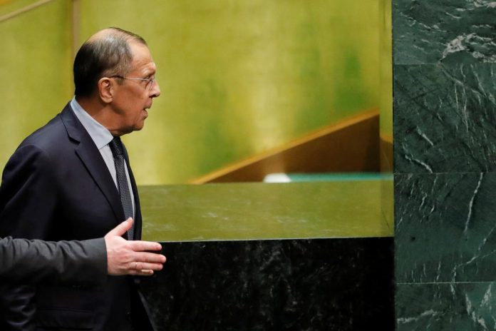Lavrov says Trump-Zelenskiy call blown out of proportion