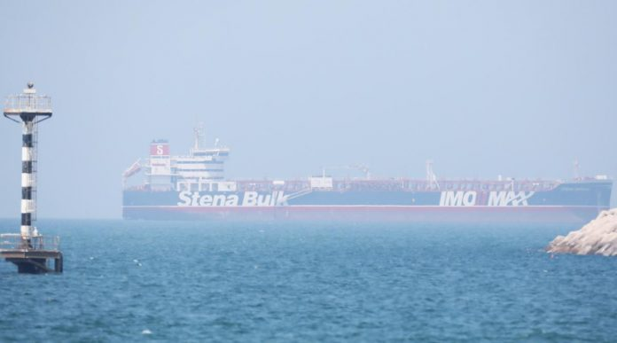 British tanker docks in Dubai after detention by Iran