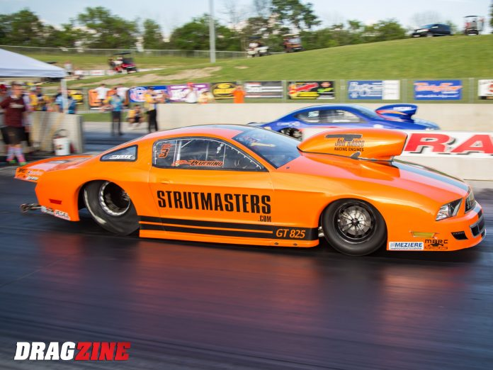 Johnny Pluchino Ready For First PDRA Extreme Pro Stock Win