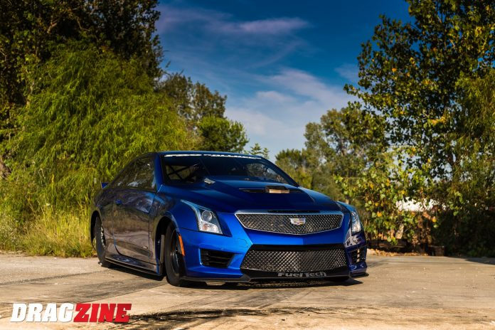 Larry Larson's Cadillac Takes Stock-Appearing To A Whole New Level
