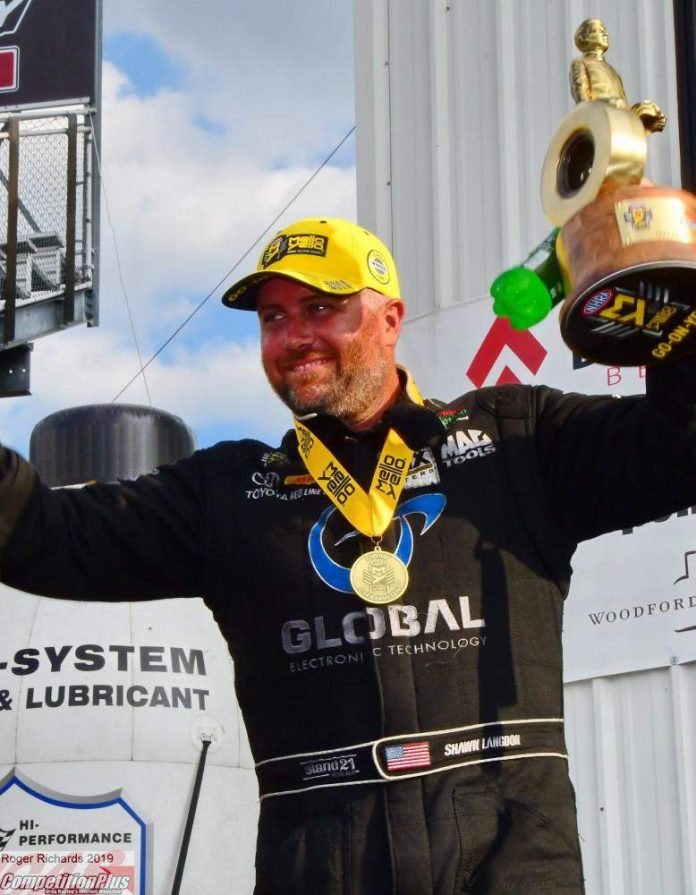 LANGDON, B. TORRENCE, ENDERS AND STOFFER EARN COUNTDOWN WINS AT NHRA MIDWEST NATIONALS