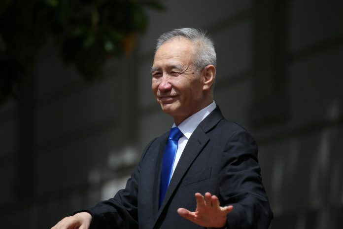 China Vice Premier Liu will travel to U.S. for trade talks on October 10-11