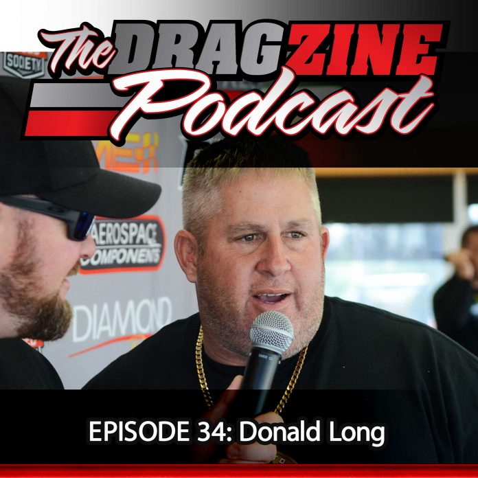 The Dragzine Podcast Episode 34: Donald Long