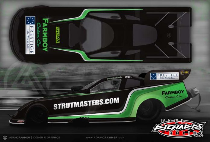 STRUTMASTERS JOINS AS SPONSOR FOR DAVE RICHARDS