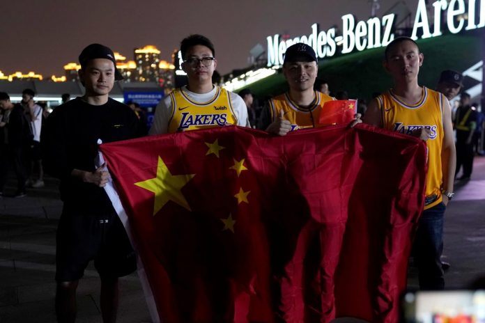 As China storm swirls, Nets and Lakers set to address media Friday