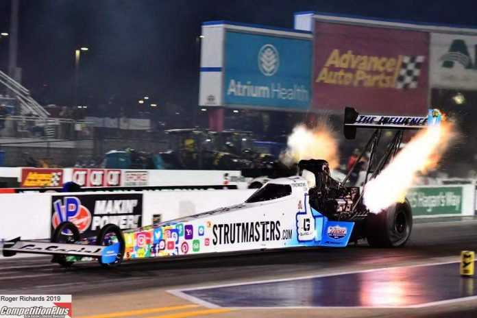 ASHLEY GETS HIS FIRST QUALIFYING BERTH IN NHRA TOP FUEL