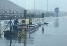 NHRA CAROLINA NATIONALS FINAL ELIMINATIONS POSTPONED
