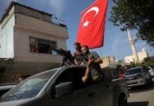 Turkey says Kurdish forces emptied Islamic State prison in northeast Syria