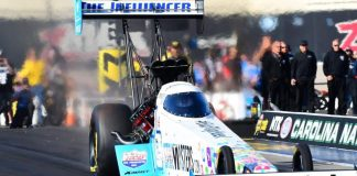 THE ROOKIE WHO DIDN'T RACE TOP FUEL LIKE A ROOKIE