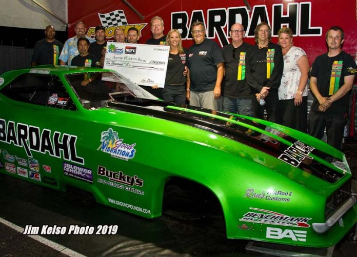 CHAMPIONSHIP PAYOUT DETERMINED FOR GOOD VIBRATIONS UNFCC SERIES