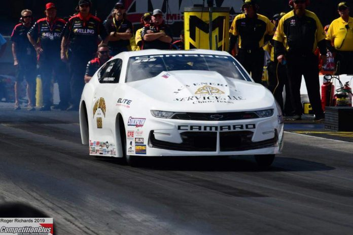 AARON STANFIELD ENJOYING HIS TIME IN PRO STOCK