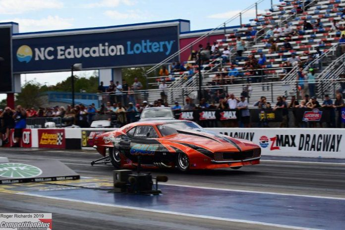 NHRA CONTINUES CENTRIFUGAL SUPERCHARGER TESTING IN CHARLOTTE
