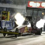 TOP FUEL STANDOUT BRITTANY FORCE PROVISIONAL NO. 1 IN RECORD FASHION