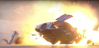 Pro Stock's Alan Prusiensky Goes For An Intense Ride