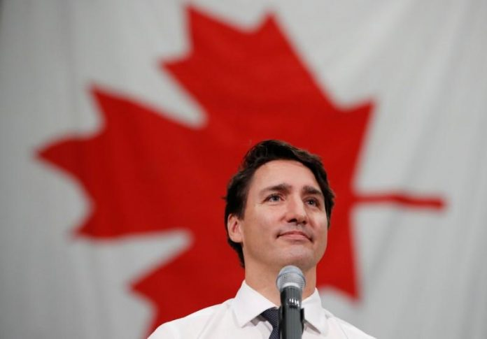 Canada's Trudeau, main rival trade attacks as campaign grinds to conclusion