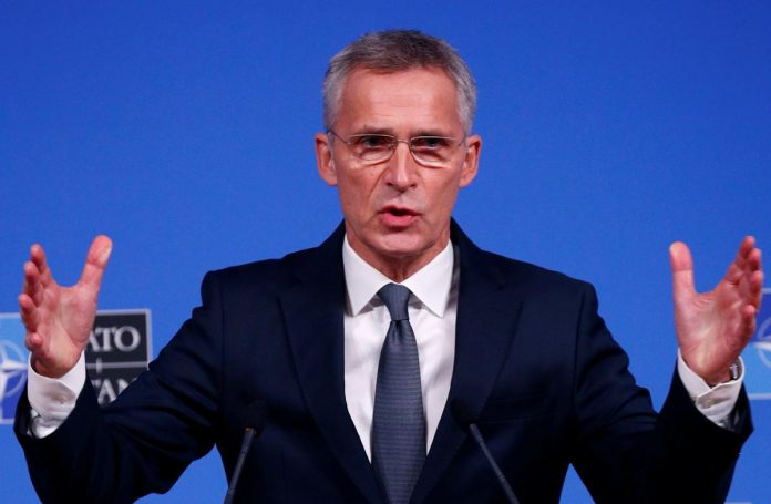 Germany discussed idea of northern Syria security zone with NATO's Stoltenberg