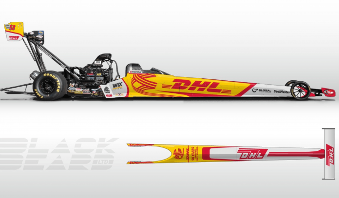 Team Kalitta And DHL Unveil Special Look For Vegas And Pomona