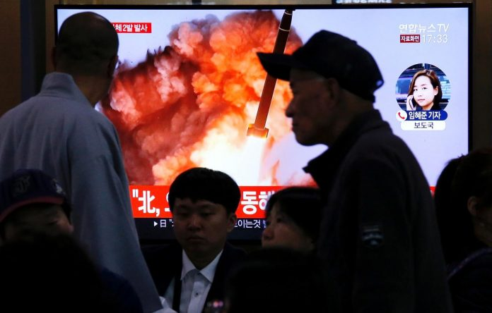 North Korea launches two suspected missiles after warnings to Washington