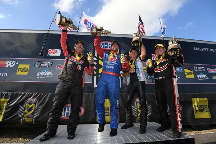 B. Torrence, Hagan, Anderson And Savoie Race NHRA FallNationals