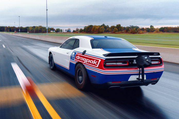 Mopar And Dodge Roll Out New 2020 Challenger Drag Pak At SEMA