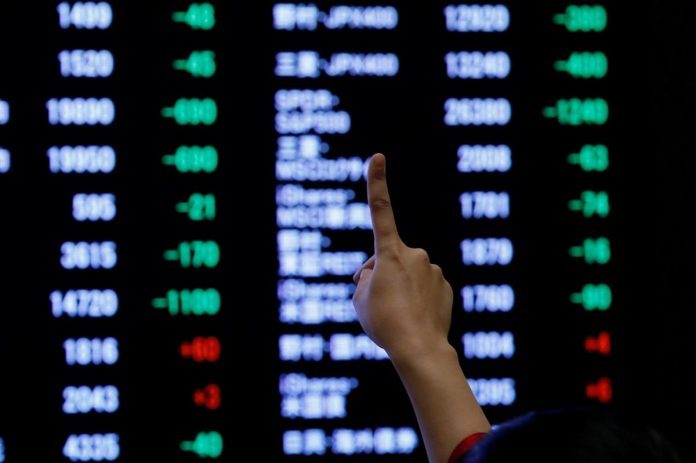 Asian shares ease from six-month highs on U.S.-China trade angst