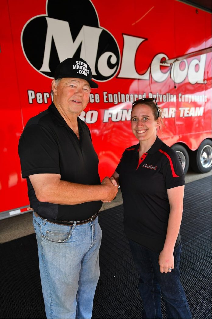 AUDREY WORM'S TOP FUEL TEAM A TESTAMENT TO 'WOMEN OF POWER