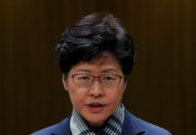 Hong Kong leader says violence has far exceeded calls for democracy