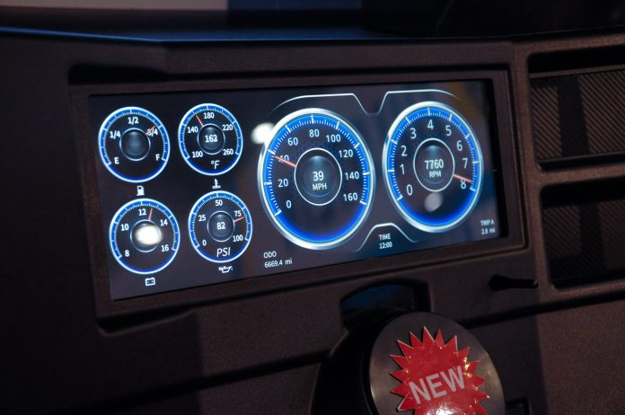 Autometer's G-Body, Square-Body Truck Digital Gauges