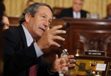 Former Republican Congressman Mark Sanford drops bid to challenge Trump