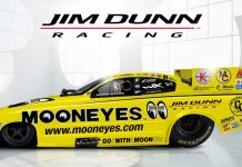 THE MOONEYES FUNNY CAR IS BACK WITH JIM DUNN RACING
