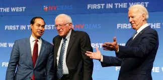 Democratic presidential candidates court labor support in Nevada