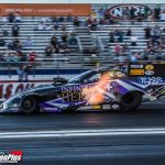BECKMAN PUTS ON A SHOW IN NHRA FINALS WIN; HIGHT LOCKS UP FUNNY CAR TITLE