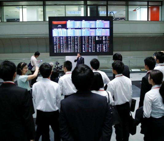 Asia shares trapped in a trade maze, oil nurses losses