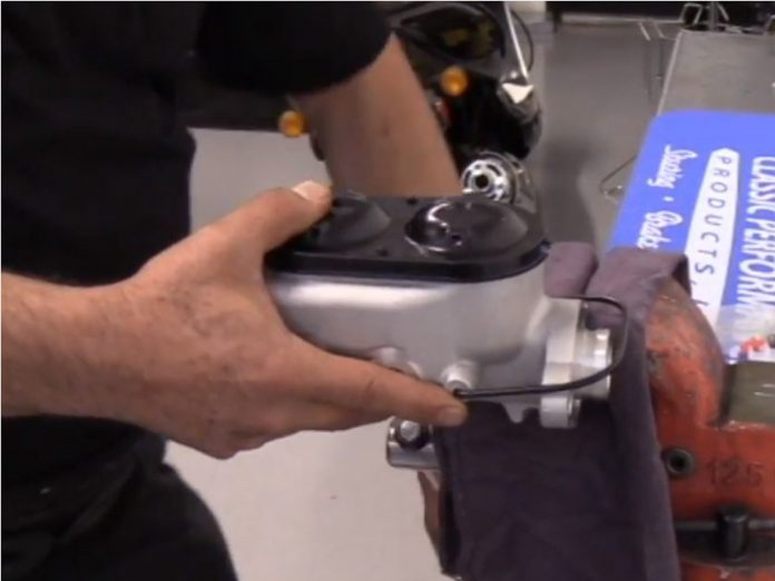 Learn To Bench Bleed A Master Cylinder With CPP
