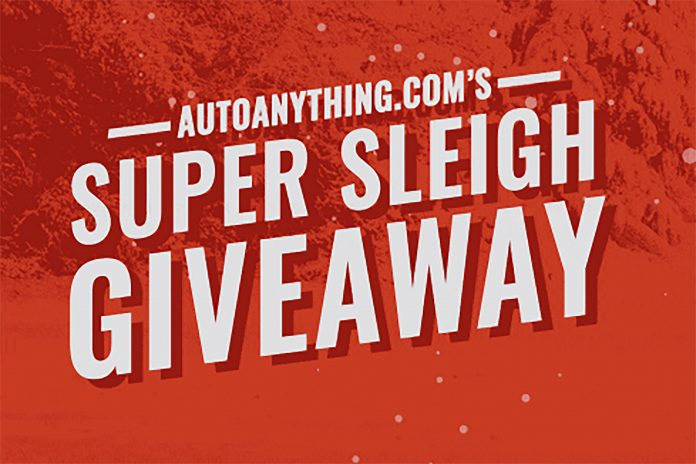 Auto Anything's Super Sleigh Giveaway