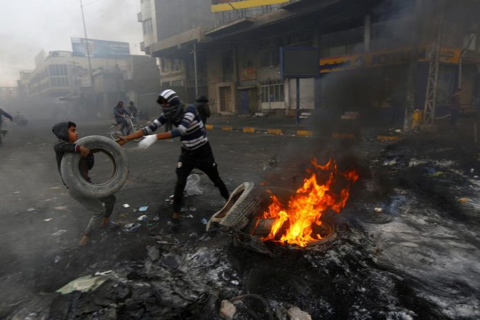 Iraqi forces kill 16 protesters after Iranian consulate torched