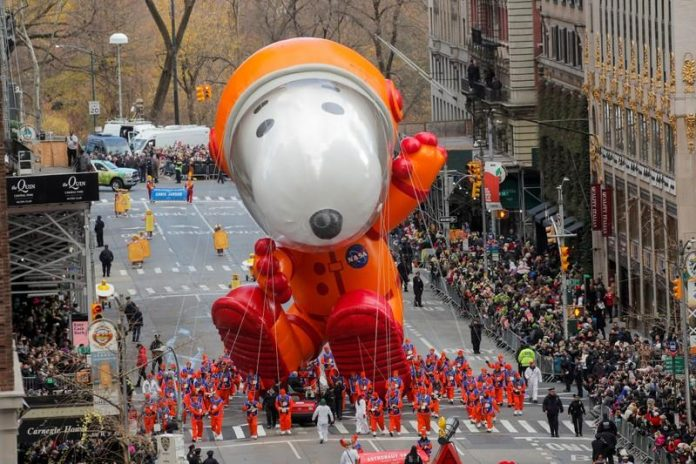 Balloons cleared to fly in iconic NYC Thanksgiving Day parade