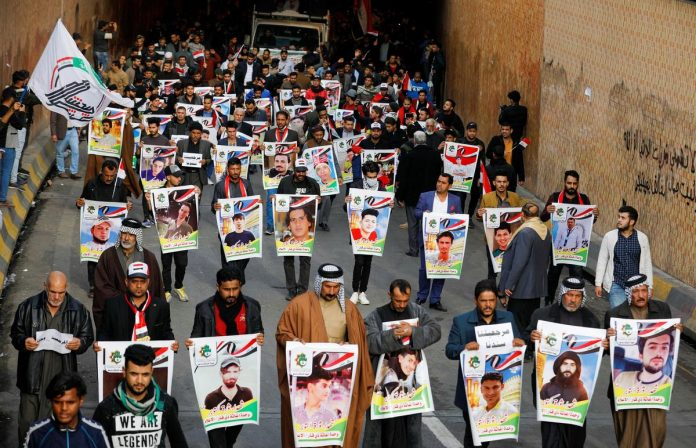 Iraq protest death toll mounts as cleric warns against meddling