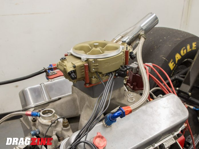 EFI Swapping A Dragster With A Holley Sniper Stealth 4500: Part 1
