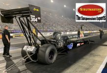 STRUTMASTERS SIGNS ON AS MAJOR ASSOCIATE FOR FOLEY-LEWIS TOP FUEL