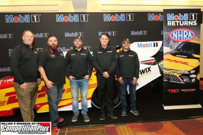 MOBIL 1 RETURNS TO NHRA WITH KALITTA MOTORSPORTS