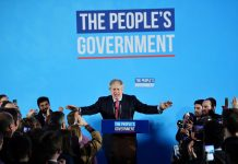Britain speeds towards Brexit as Johnson wins large majority in election