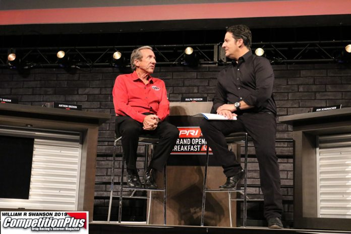 WILD, TELL-ALL TALES MARK DSR DRIVERS' REUNION AT INDIANAPOLIS