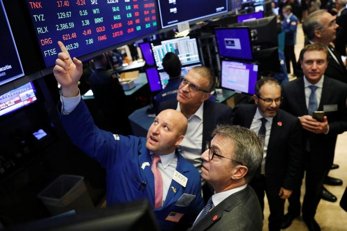 S&P 500, Nasdaq open at record highs on China data, initial trade deal
