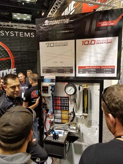 AEROMOTIVE GOES BIG AT PRI