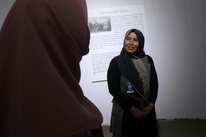 Aceh tsunami survivor hopes next generation will learn lessons