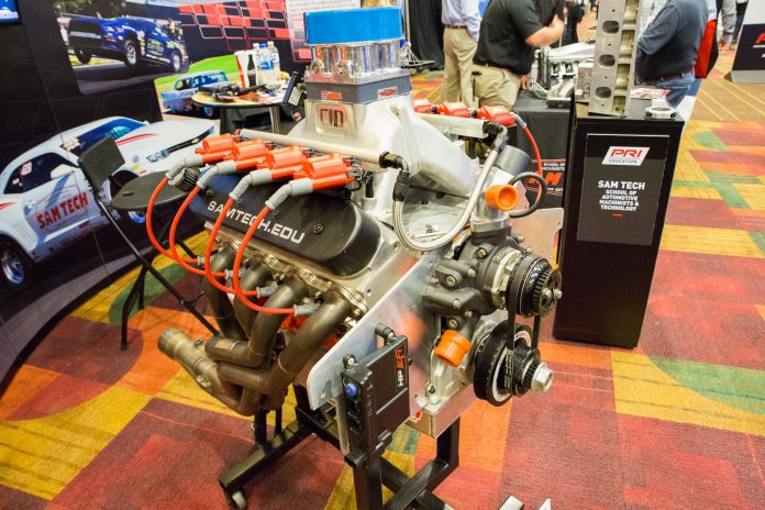 SAM Tech's Engine Masters LS Build Engages Students
