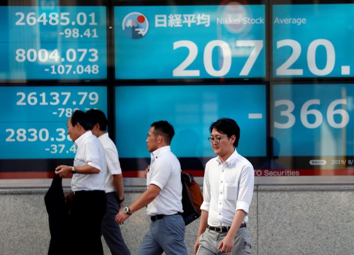 Asia stocks ease slightly as doubts about risk factors linger