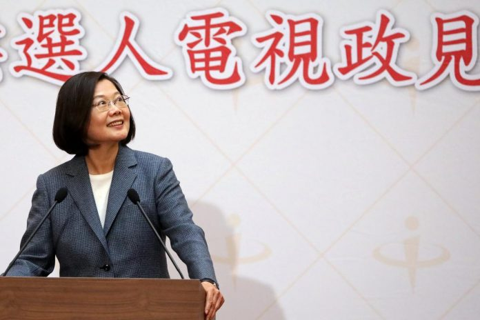 Taiwan president urges more talks on contested China 'infiltration' bill